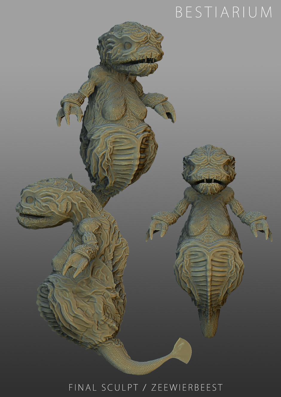 Bestiarium Creatures
