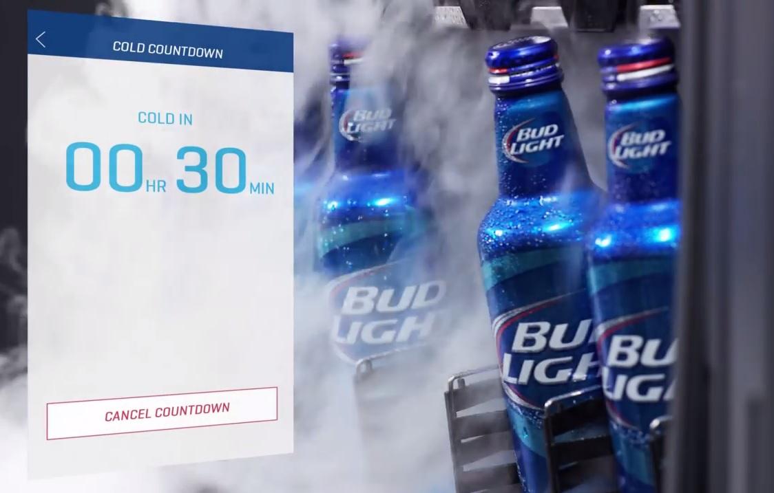 Bud Light komt met slimme koelkast